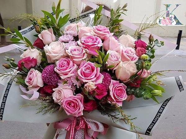 hoa hồng nhập loài hoa sang trọng nhất hiện nay
