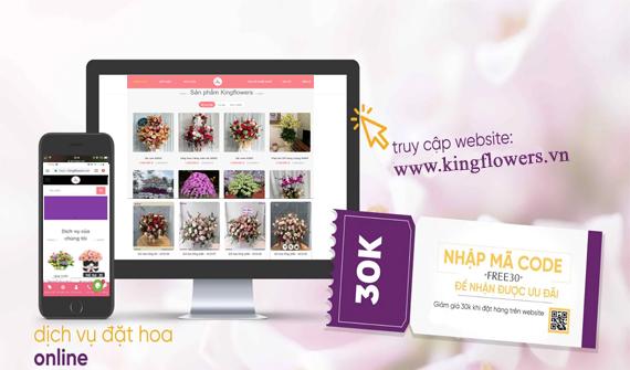King flowers chuyên lan hồ điệp